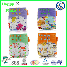 Happy flute baby cloth wholesale diaper reusable baby diapers