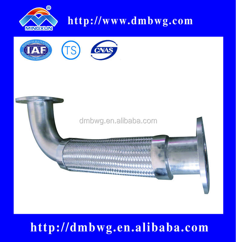 Stainless steel diameter 15mm to 800mm engine exhaust bellow