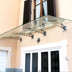 Glass canopy designs,decorative glass canopy awnings