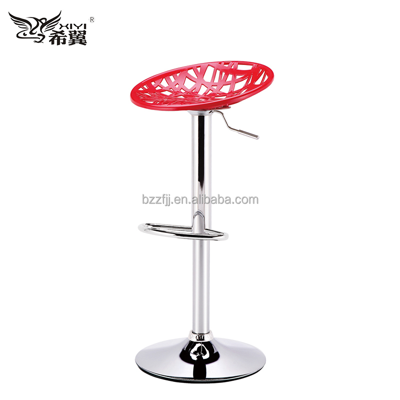 high quality plastic fibergalss seat bar stool chair Bank waiting chair