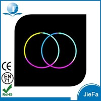 Neon Glow Necklaces CE/ RoHs Standard Used for Concert and Parties