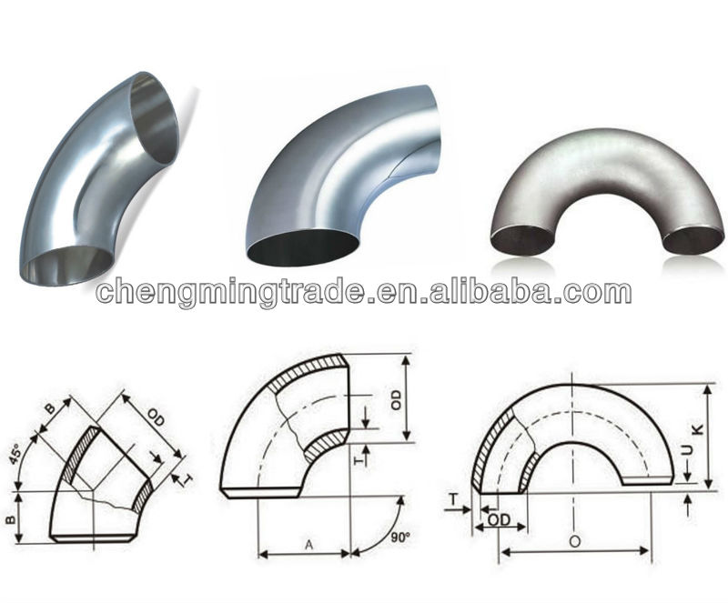 Ansi Sch40 90 Degree Carbon Steel Pipe Elbow Fittings Dimensions - Buy  Carbon Steel Pipe Fitting Dimensions,Ansi Pipe Fitting Dimensions,Sch40 90