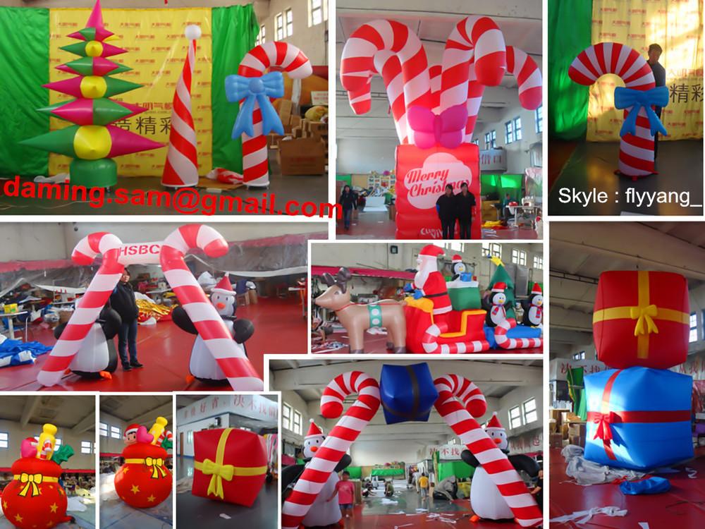 Best Goods 2014 Christmas Inflatable Santa Claus/ Residential Christmas  Decorations/20ft Christmas Inflatable Santa