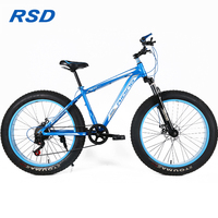 2018 New model Fat Tyre Adult mountain bike with fat tires/fat bike brands from China/26inch mountain bike with big tires