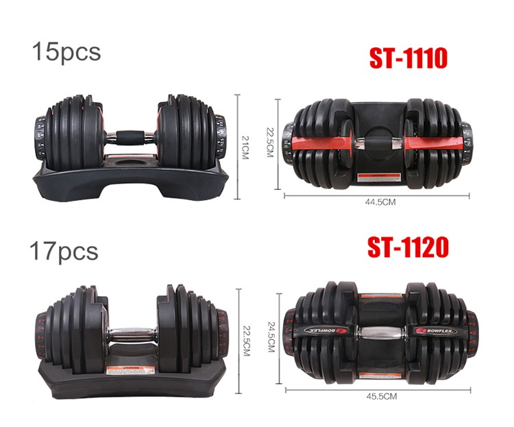HANGZHOU BIG BANG Gym Equipment Weightlifting Crossfit Adjustable Dumbbell Set for adult