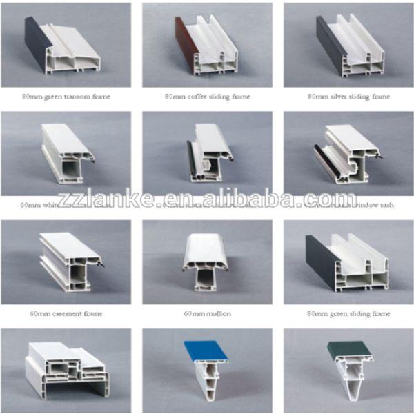 Color decorativo perfiles de pvc para ventanas y puertas for Perfiles pvc para aberturas