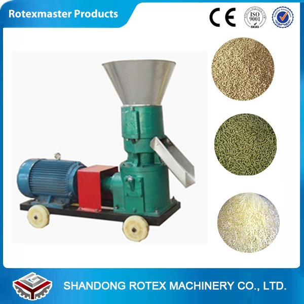 Poultry feed pellet making machine for rabbit / chicken / fish / pig