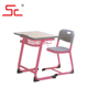 New arrival high quality MDF single school desk chair