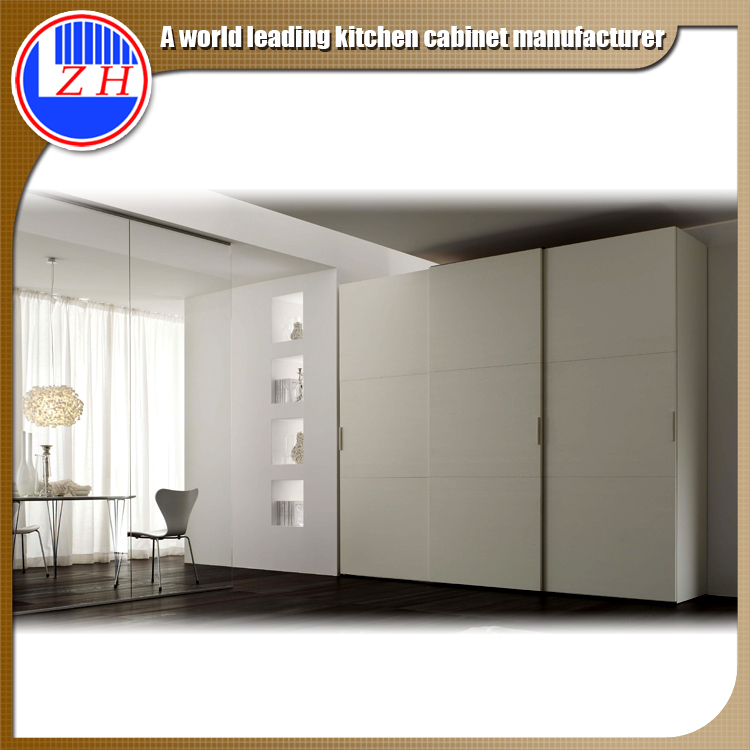Exporting Customized closet with sliding door with mirror