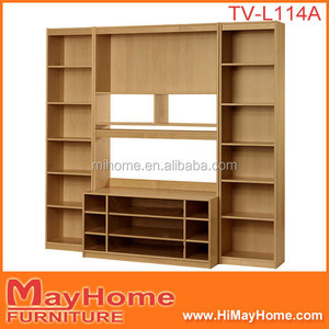 Modern tv cabinet design new arrival item wooden wall mounting tv stand