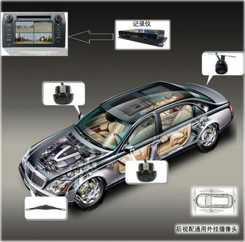 360 Degree Multi Camera System For Cars Buy Car Audio