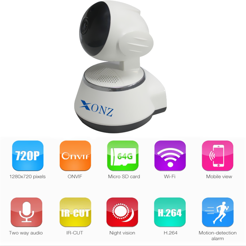 Digital Video Baby Monitor - 2.4 Ghz Nightvision and Two-Way Audio/Video Camera with Sim card