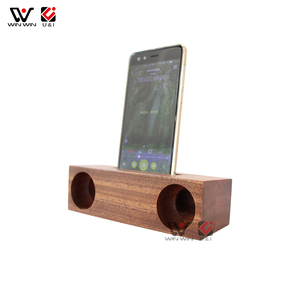 Portable Wooden Speaker Factory Price Good Sound System Amplifier Wood Speaker For Cell Phone