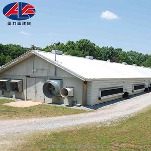 Low Price Modern Poultry House For Construction