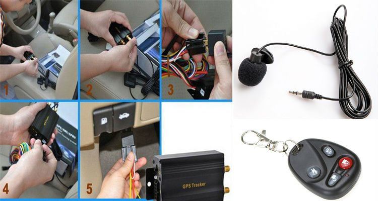 Hidden Spy Gps Tracker Device For Cars With Google Maps Track ...