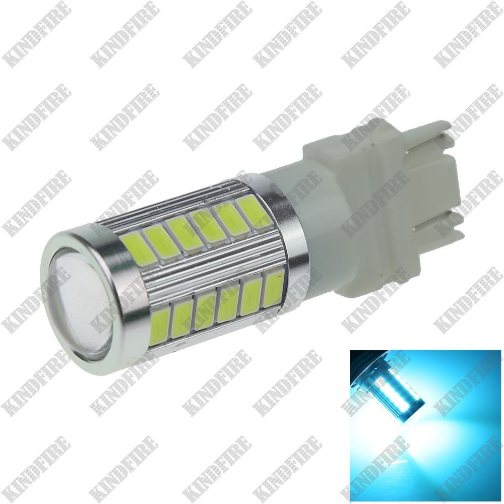 KindFire 1X  Car 3156 3157 33 5730 SMD LED Rear Light Brake Bulb Lamp 12-24V F016(2 Color)