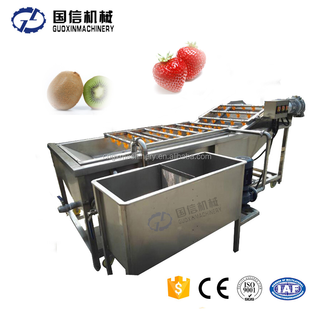 Bubble Washing Fruit Clean Machine