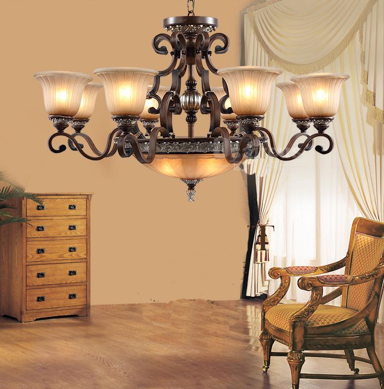 american style pendant light fashion vintage tieyi living room lamps large lighting rustic. Black Bedroom Furniture Sets. Home Design Ideas