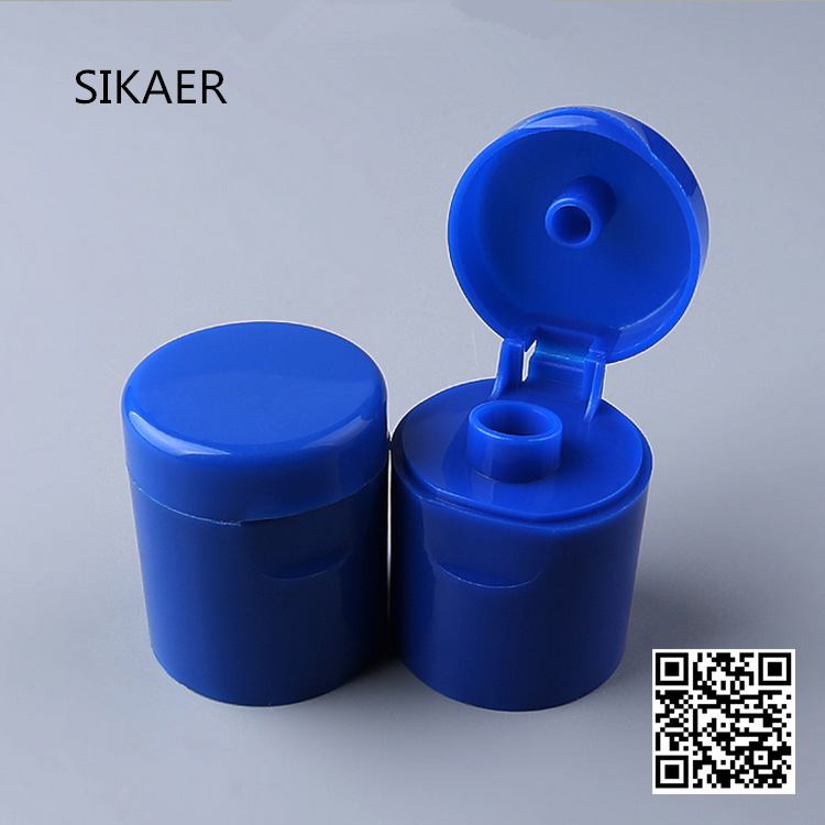 plastic screw filp top bottle cap