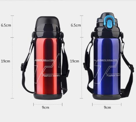 Large Capacity Stainless Steel Vacuum Cup Outdoor Portable Whoelsae Insulated Vacuum Cup