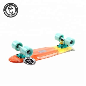 Custom plastic skateboard fish cruiser skateboard deck