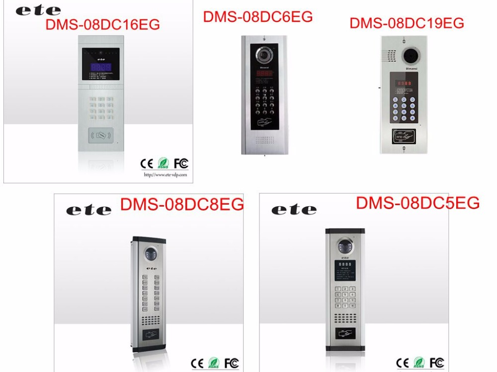 999 rooms multi family doorbell door intecom multi apartment video intercom system with lock unlocking funtion