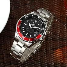 Новые роскошные Rolexable полностью стальные мужские s часы лучший бренд часы мужские 30 м спортивные наручные часы водонепроницаемые Relogio Masculino ...(Китай)