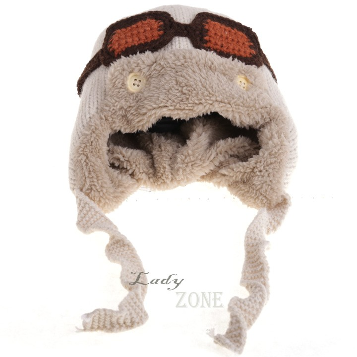 0e230cae7ce Get Quotations · 2015 New Winter Beanie Faux Fur Hats Warm Cute Baby Kids  Girl Boy Toddler Knitted Crochet