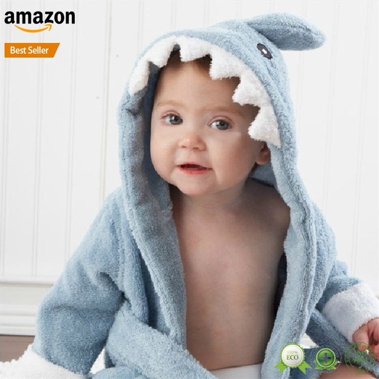 Ultra Soft For Beach Bath or Kids Swimming Pool GreenOwl Childrens Towel Poncho Girls and Boys 100/% Cotton