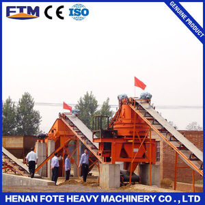 Iron ore upgrading plant ladder conveyor belt