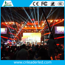 Shenzhen Leader HD full color P3 led screen indoor event/concert video playing