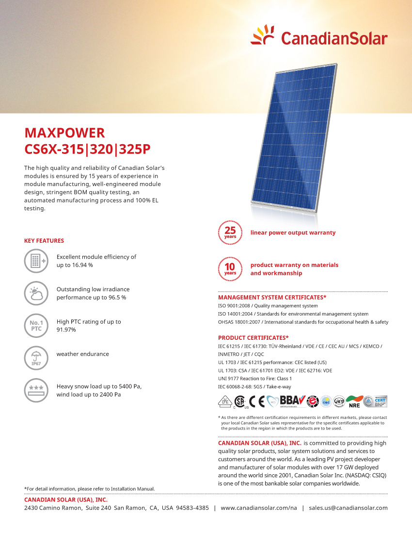 Buy Cheap Price Canadian Solar 270w - 325 Watt Poly Solar Pv Panels - Buy  Solar Panel Price,Canadiansolar Panel,Solar Panel Canadian Product on