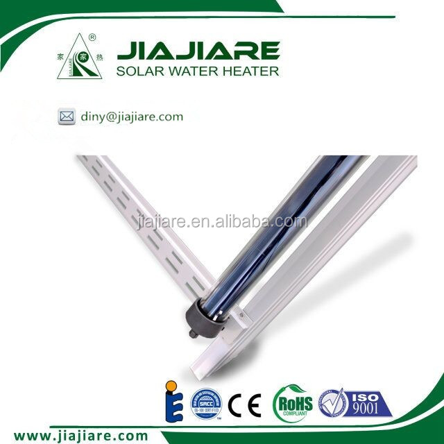 heat pipe pressurized solar water heating system for shower