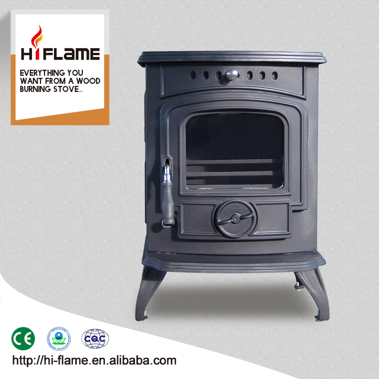 Multi fuel freestanding cast iron wood fireplace heaters stove with boiler HF332B