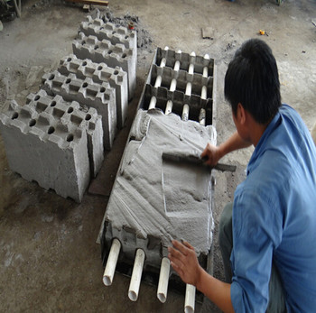 Mould and forming generator for the CLC(Light weight brick) in Shengya