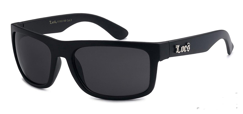 f52eb1edd8dc LOCS Classic Style Original Gangsta Shades Hardcore Sunglasses- Locs  8loc91063MB