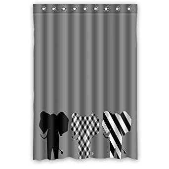 Get Quotations Lastest Fashion Style Elephant Painting Artwork Bathroom Shower Curtain 36 By