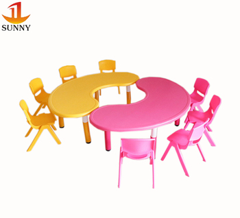 Super Children Furniture Supplier Semi Circle Plastic Table And Chair Cute Kids Desk Chairs Buy Kids Desk Chairs Desk And Chair For Kids Kids Furniture Cjindustries Chair Design For Home Cjindustriesco