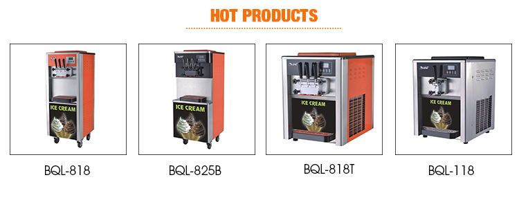Water efficient industrial ice making machine for western food
