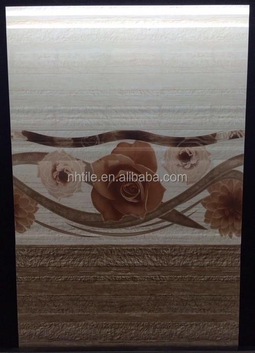 Inkjet ceramica muro del bagno, mattonelle di ceramica camera da ...