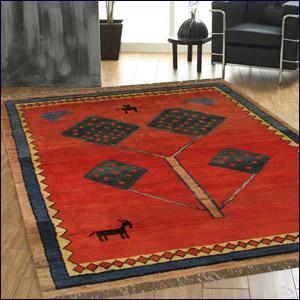 Persian Hand Made Carpet Rug Gabbeh Handmade Silk 5x8 Shiraz Small Woolen And Carpets Rugs