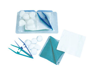 sterile basic medical dressing table instrument set