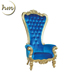 Factory Price Cheap Royal Queen Throne Chair For Wedding