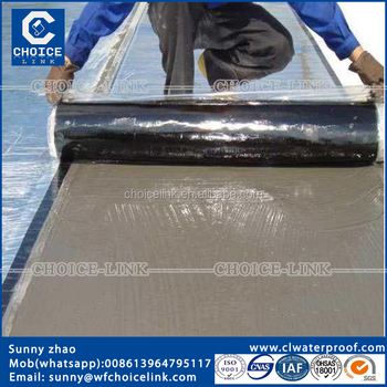 Waterproofing Materials For Concrete Roof Self Adhesive Roll Roofing