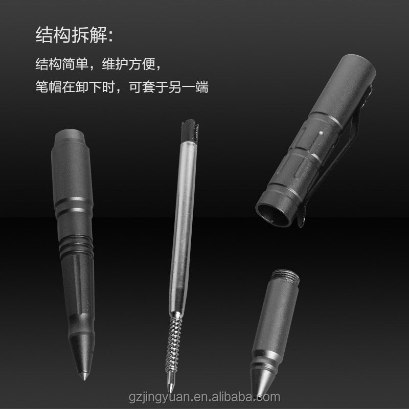 TP3A professional Self defense pen with glass breaker