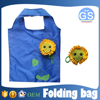 OEM factory direct suppy sunflower foldable shopping bag 190T polyester cheap