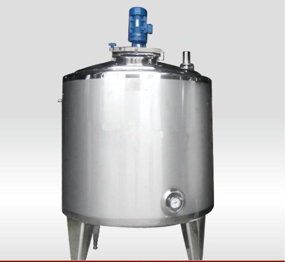 China Milk Storage Tank Juice Buffer Tank Heating Tank