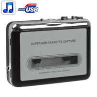 Factory price china Tape to PC Super USB Cassette to MP3 Converter Capture Audio Music Player