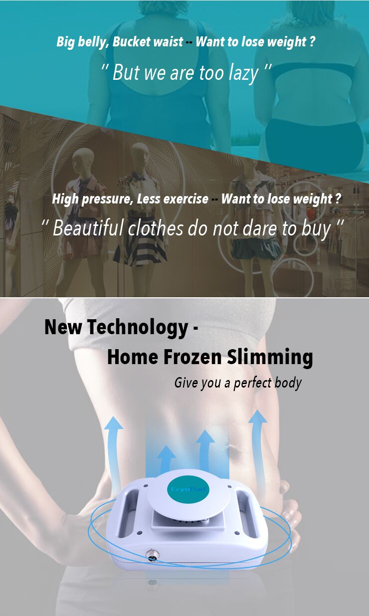 CryoPad Slimming at Home Mini Cryolipolysis Fat Freezing Machine for Home Use