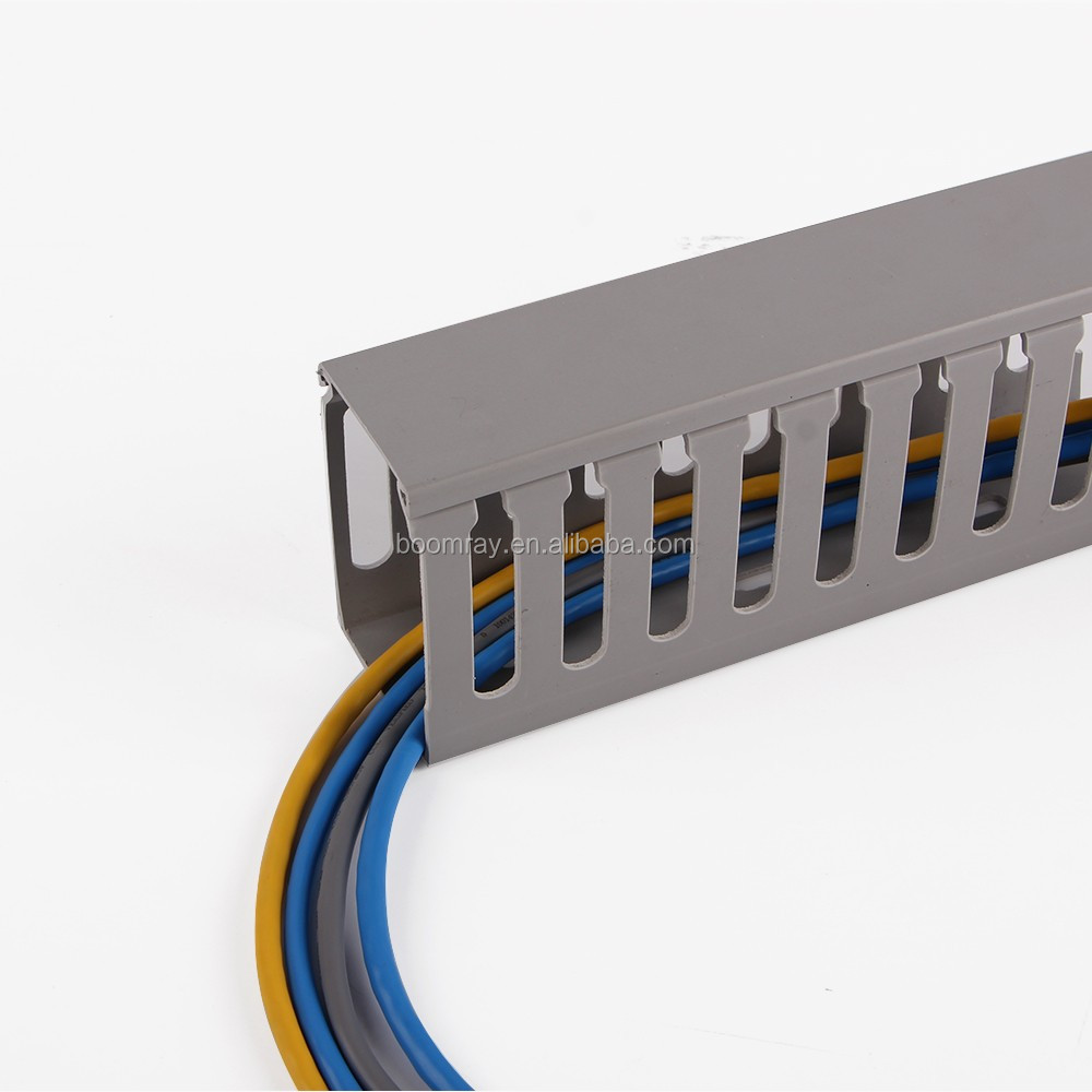 Cable Trunking Product : Latching surface solid wall and ceiling raceway solution